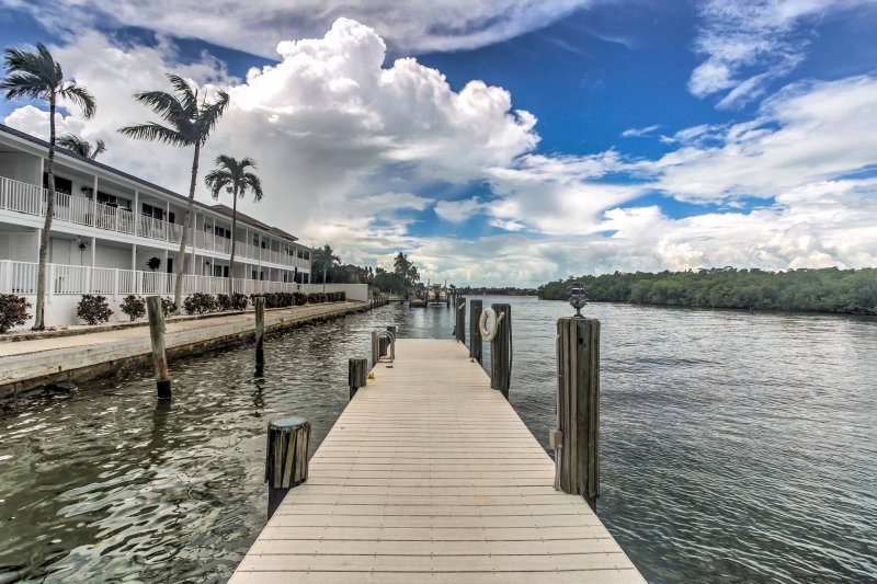 Escape to this beautiful 2-bedroom, 2-bathroom vacation rental condo on Marco Island today!