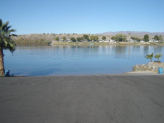 Colorado River, Private Community Boat Ramp.