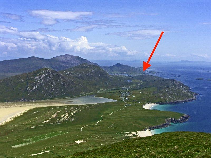 SeaView House, Isle of Harris, 5 star awarded luxe, Sauna/ Jacuzzi/Sea/Beaches, location de vacances à Luskentyre