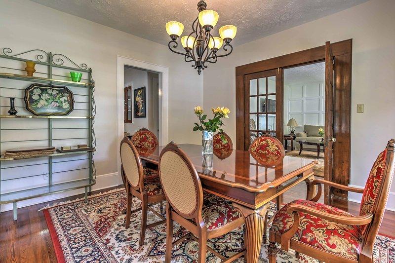 Retiro de este magnífico 3 dormitorios, 2 baños casa de pueblo Marietta vacaciones!