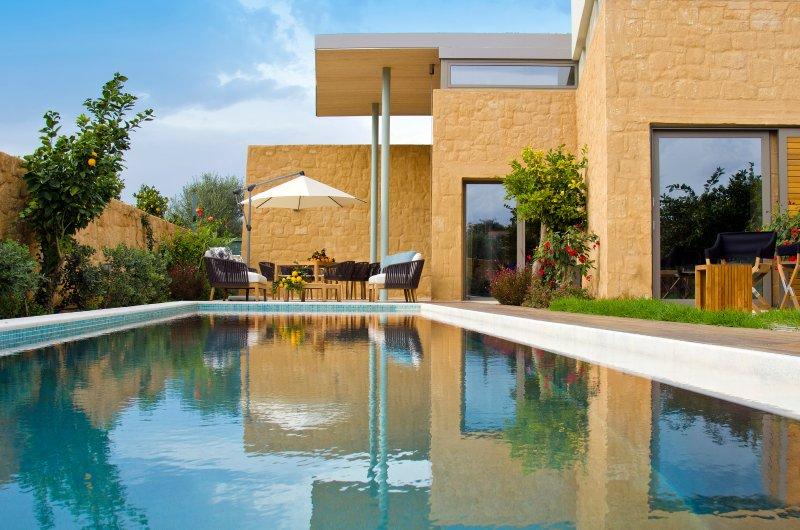 La villa a été construite par un célèbre achitect grec