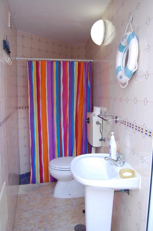Patio Bathroom wit shower