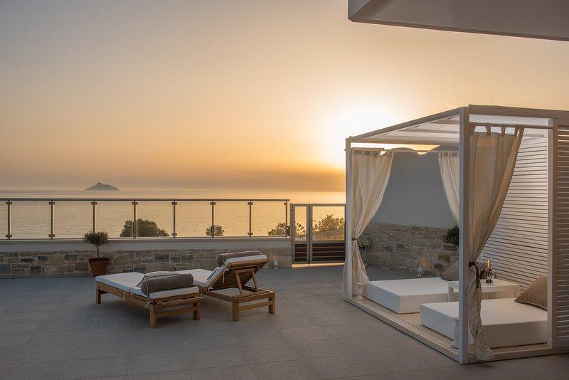 Luxury Sea side Villa Delfinia 2, holiday rental in Kalamaki