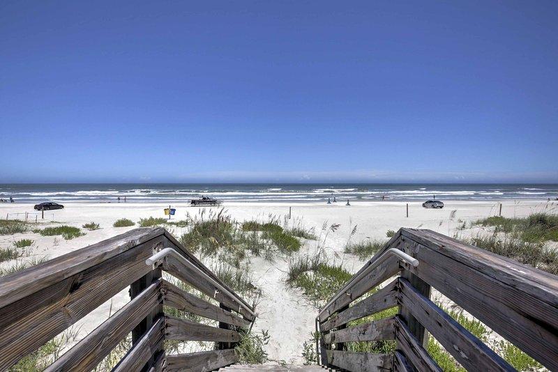 Questa casa è un facile a piedi dalla spiaggia!