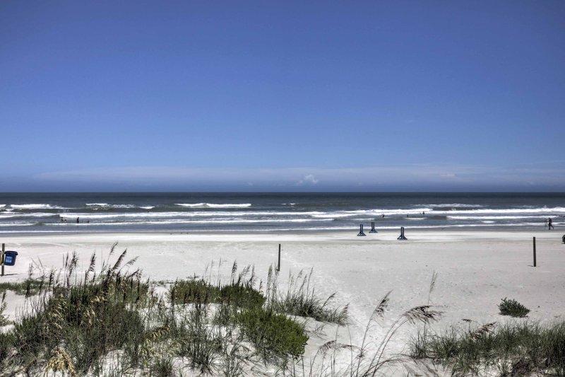 Sarete minuti dalla spiaggia, negozi e ristoranti!