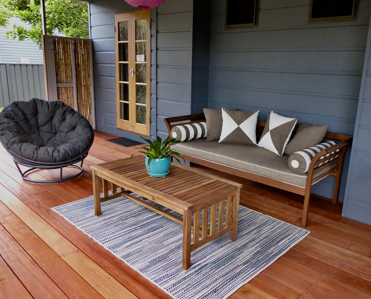 Western verandah. The perfect spot to relax!