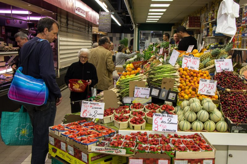 Market in Nimes