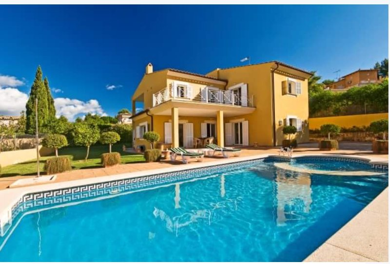 Beautiful villa in Costa de la Calma by owners+ private pool+touristic lisence, holiday rental in Santa Ponsa