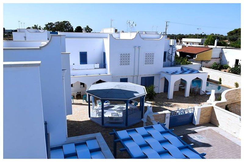 Torre Lapillo residence TorreBlu 4 posti, holiday rental in Torre Lapillo