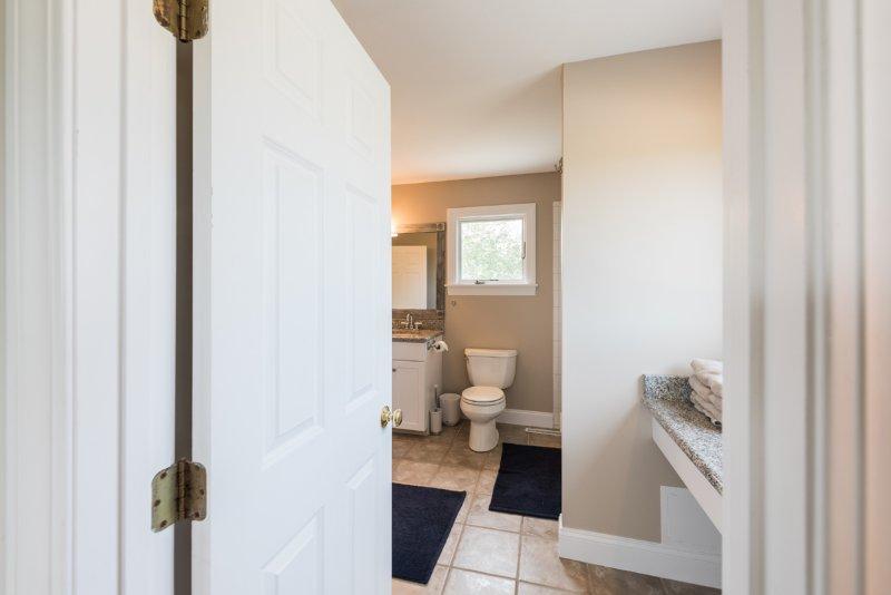 Entry to Jack & Jill Bathfrom Bedroom 4