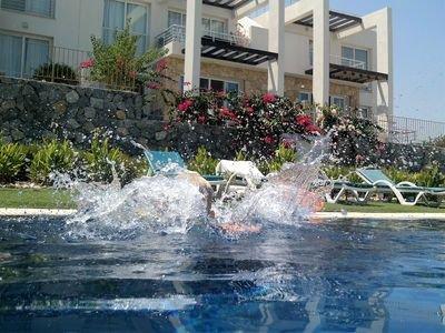 Ground Floor Corner Apartment Situated-Luxury Gated Complex, Sea/Mountain Views, holiday rental in Tatlisu