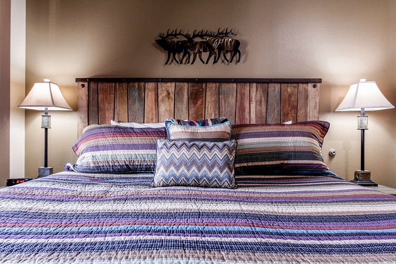 New bedding in the King Master