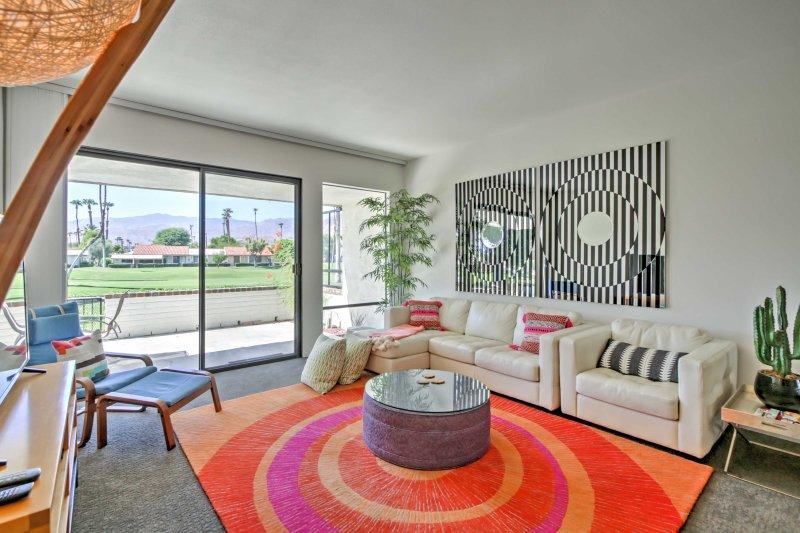 Pronto se enamorará de los 1.300 pies cuadrados de encanto contemporáneo.