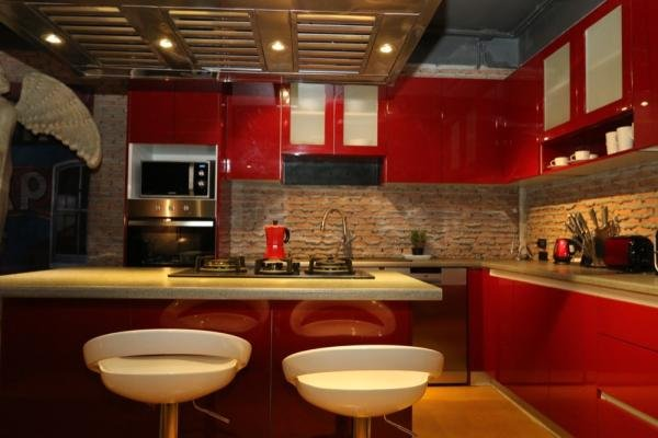 esto es solo la cocina ¿Te imaginas cómo se ve el resto de la casa?