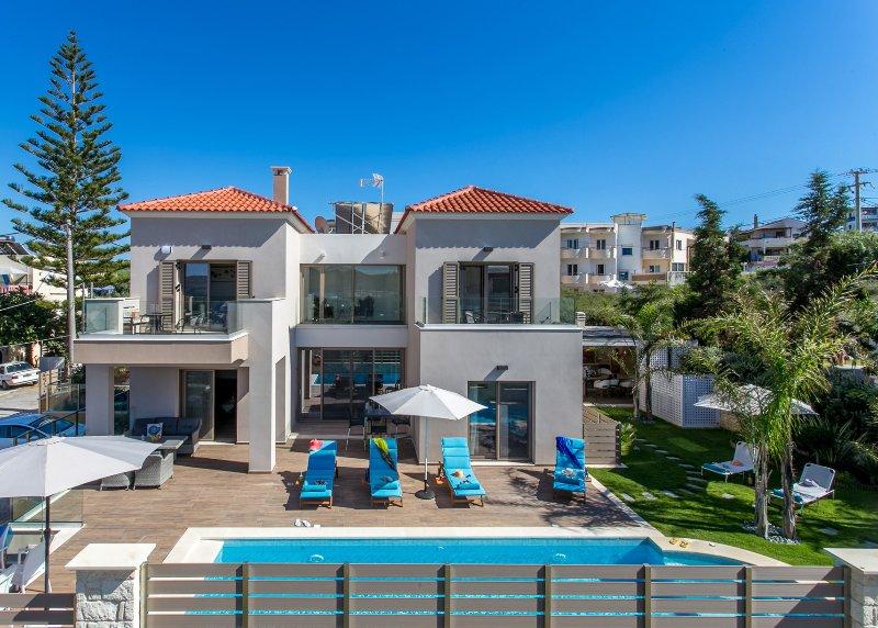 A seaside villa in Agia Marina