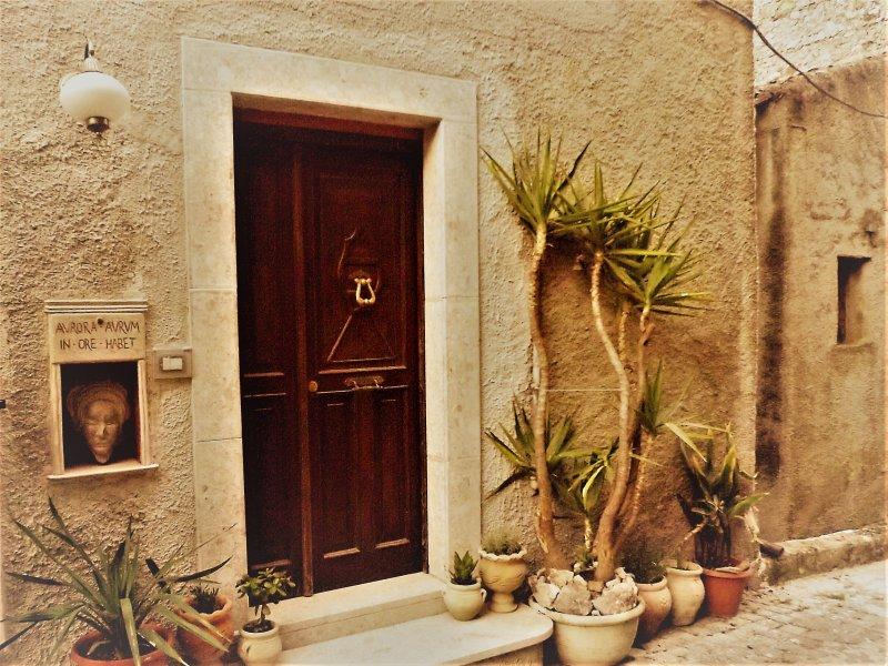 Casa Aurora è ospitalità ad arte tra cultura, luoghi e natura, vakantiewoning in Brienza
