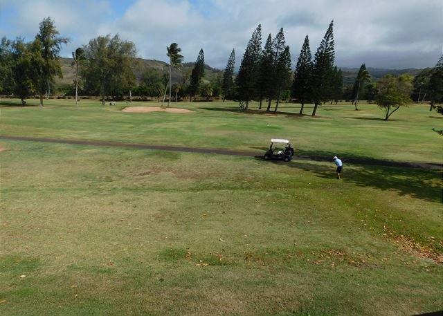 Blick von der Einheit des Golfplatzes Fazio