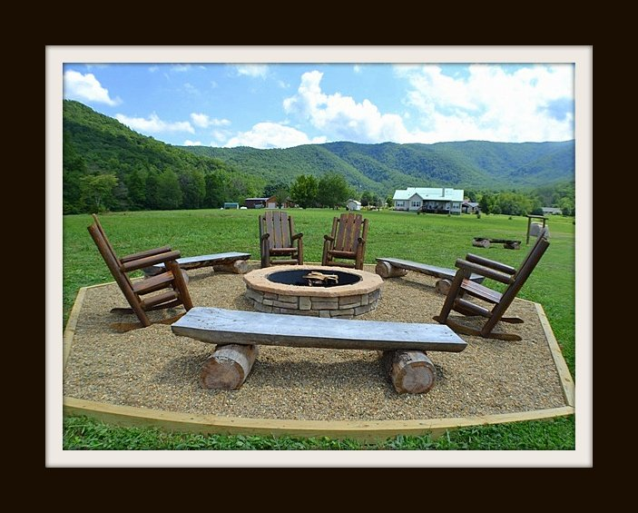 Fire pit/view