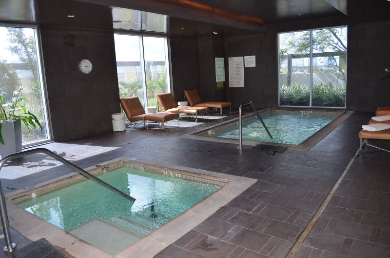Spa located on 6th Floor