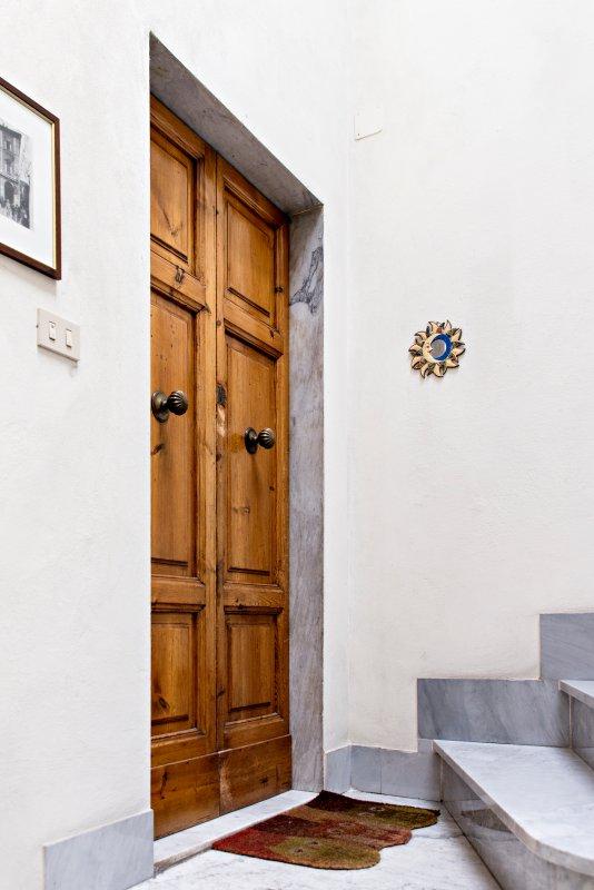 Door entrance view