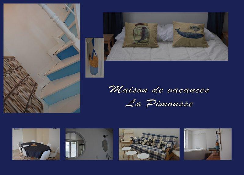 Maison de Vacances La Pimousse, casa vacanza a La Gouesniere