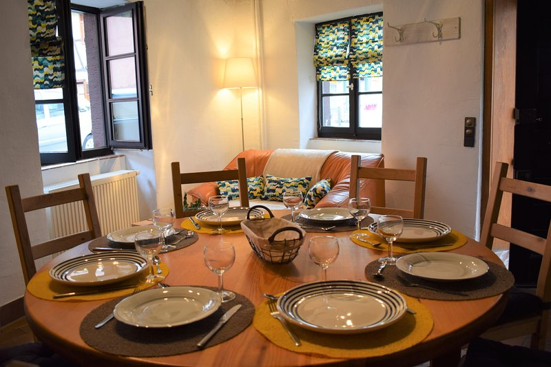 Maison de charme alsacienne hyper centre, holiday rental in Ribeauville