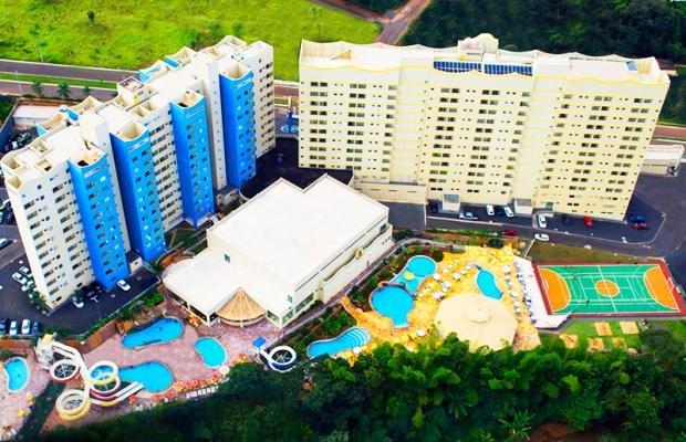 Apartamento Grand Dolphin 1002, location de vacances à Caldas Novas
