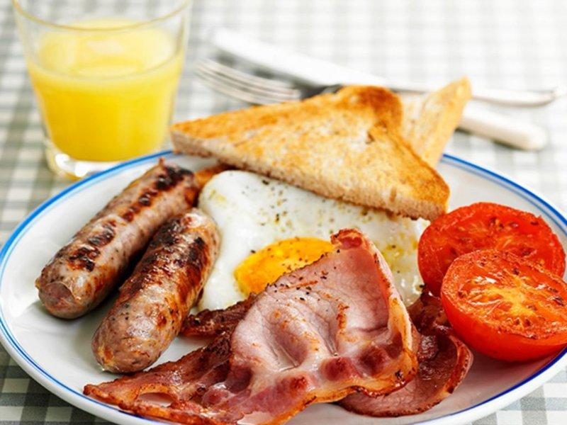 Petit déjeuner Anglais en supp 8 Euros