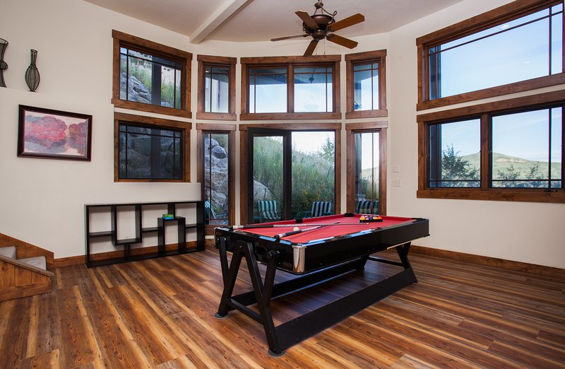 Lower Level Great Room pool table