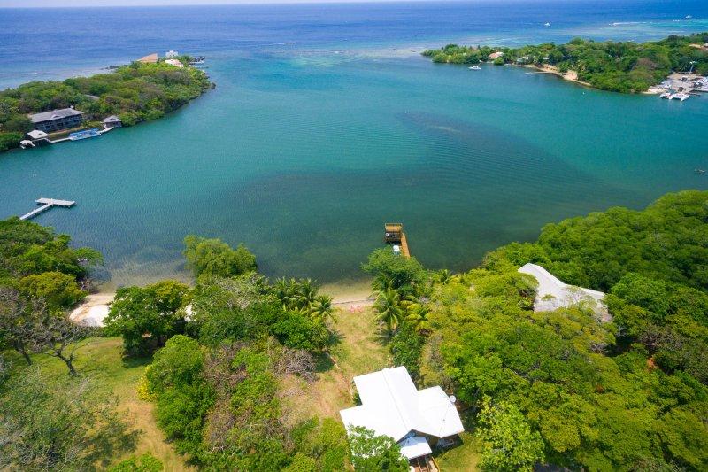 Aerial View of Casa La Quinta Sur and Gison Bight