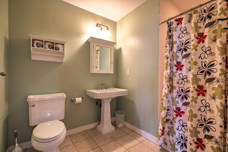 Det här hemmet har 3 orörda badrum.