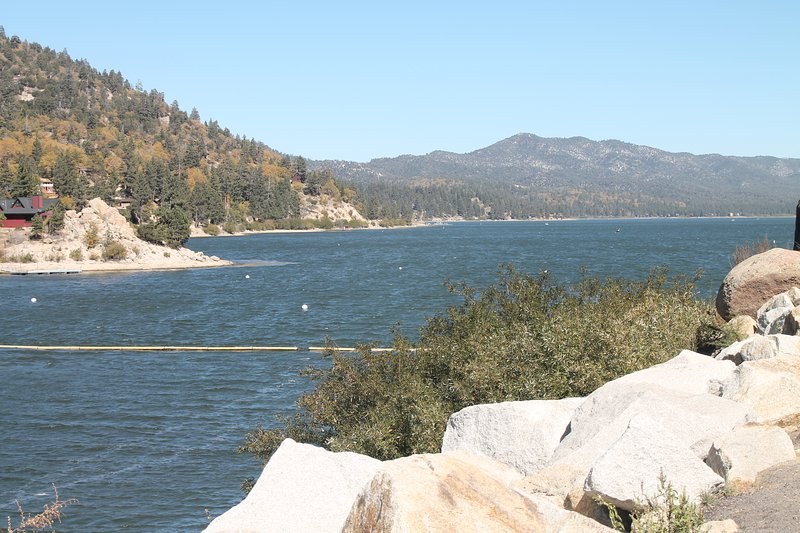 Another view of lake.