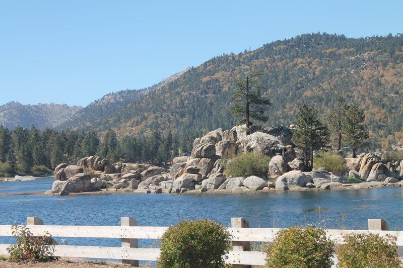 View of lake.
