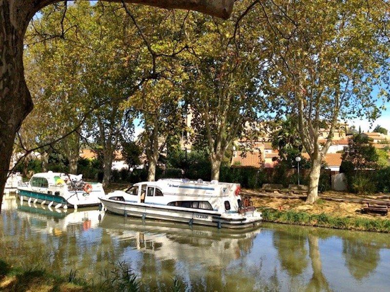 navigation on the canal du midi