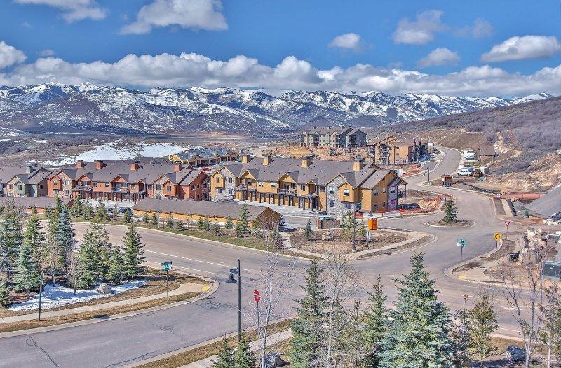 Comunidad Black Rock con las pistas de esquí de Park City y Deer Valley en la parte posterior