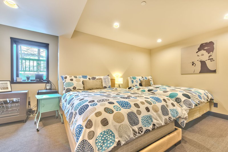 Lower Level Bedroom with 2 Queen Beds