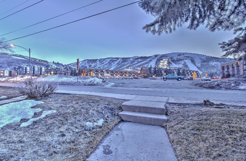 Picture from Snowblaze looking at the Park City Resort and ski slopes