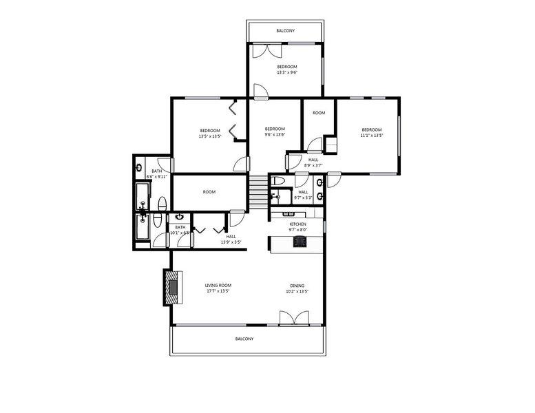 Plan d'étage de Park City Crescent Ridge
