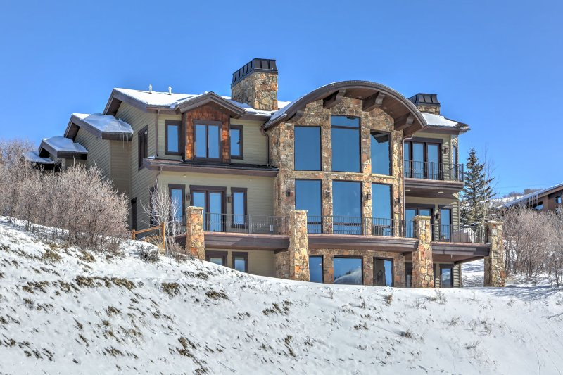 Exterior of Park City Ultimate View Mansion