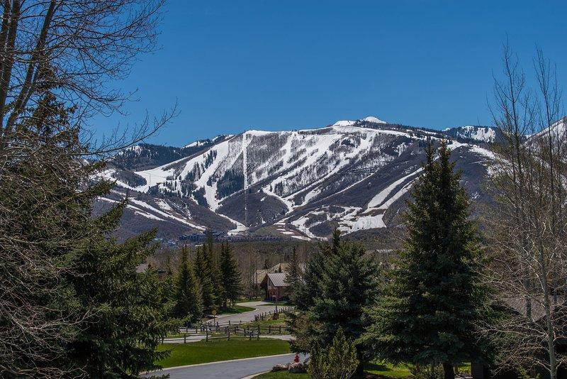 Ski Resort Views from Property