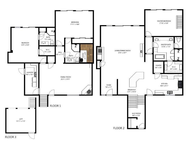 Park City Park Meadows Getaway Floor Plan