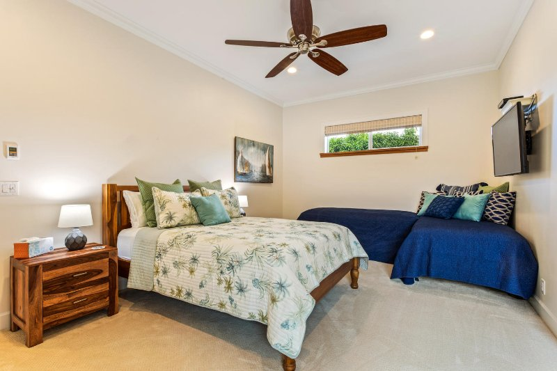 Third bedroom with en suite bath.