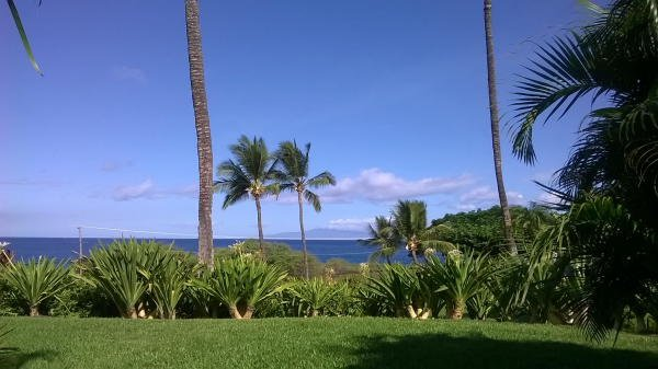 Beautiful Maui morning from our private - taken by guest 07/06/2015