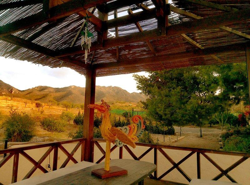 Pagoda y vistas del monte