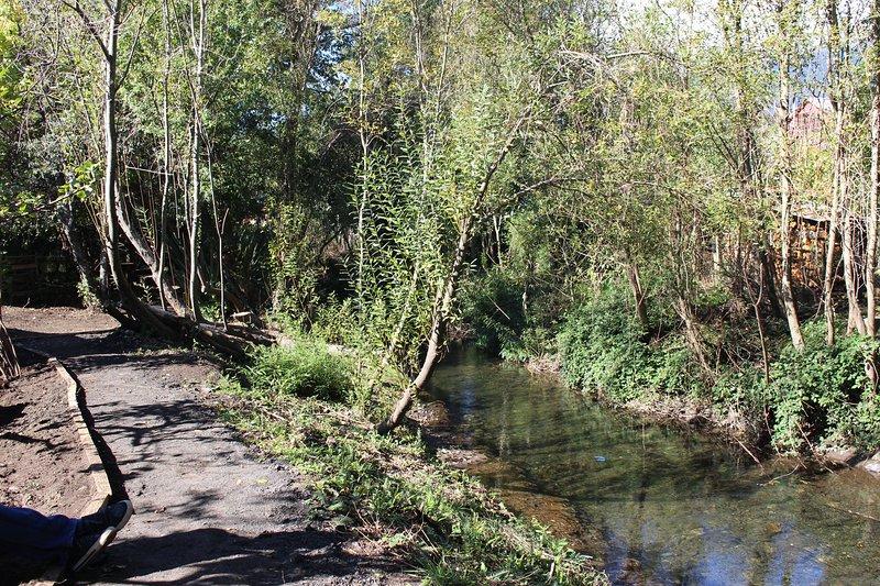 Vista del río Claro