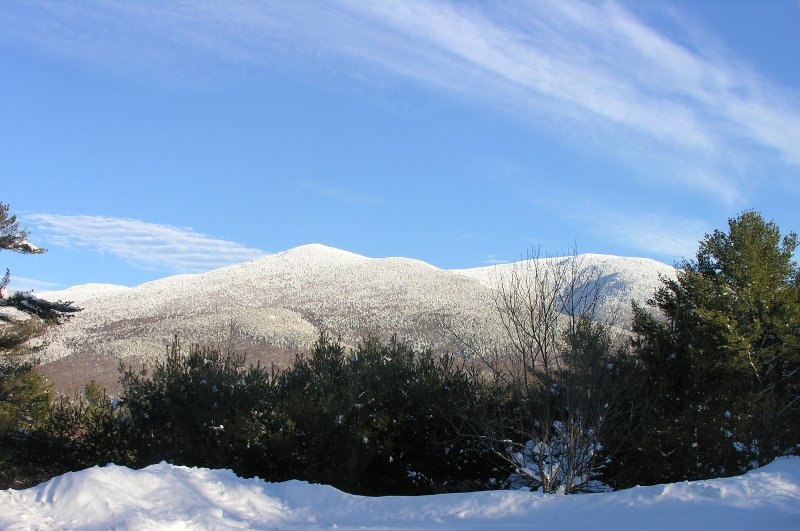 View From Porch in Winter