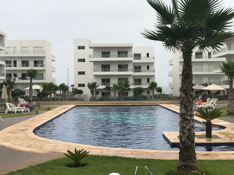 Ocean Front Luxury Apartment, holiday rental in Grand Casablanca Region