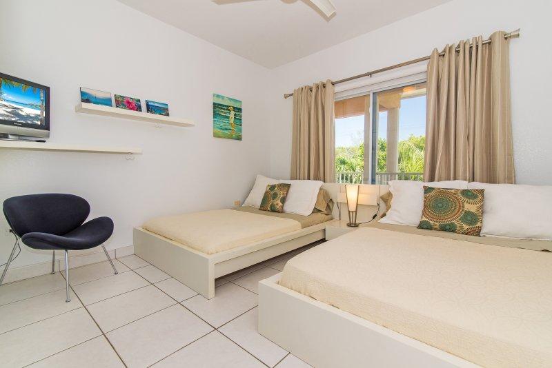 2 chambres avec 2 lits jumeaux