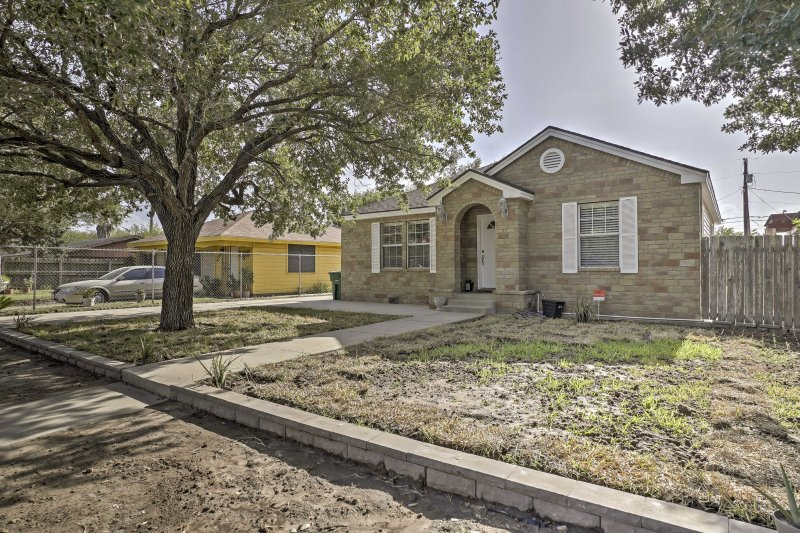This lovely home is located in a family-friendly neighborhood on a quiet street.