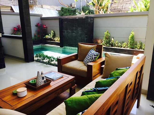 Private oasis in the heart of Legian.